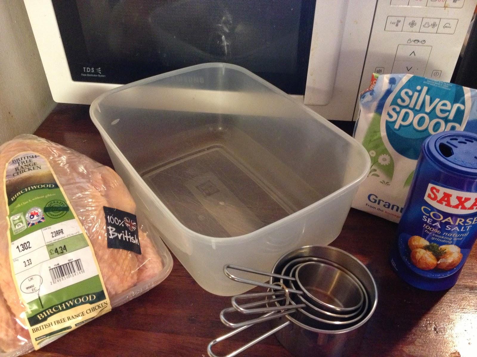 chicken brine ingredients