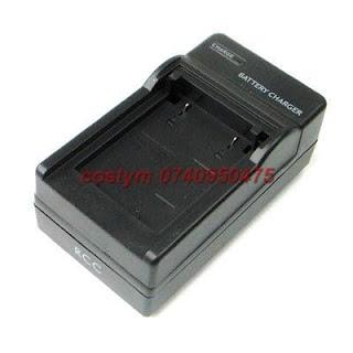 Incarcator pentru acumulatori Canon tip NB-11L, PowerShot A2400 A3400 A4000 IS ELPH 110 320 HS