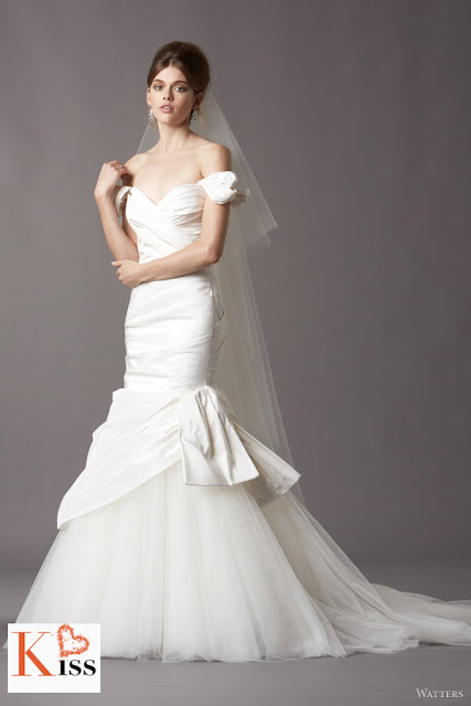 Watters 2013 Spring Mermaid Wedding Dresses