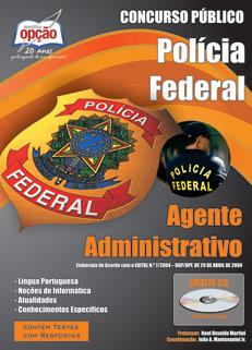 Apostila Concurso Polícia Federal Atualizada Agente Administrativo (PF) 2014