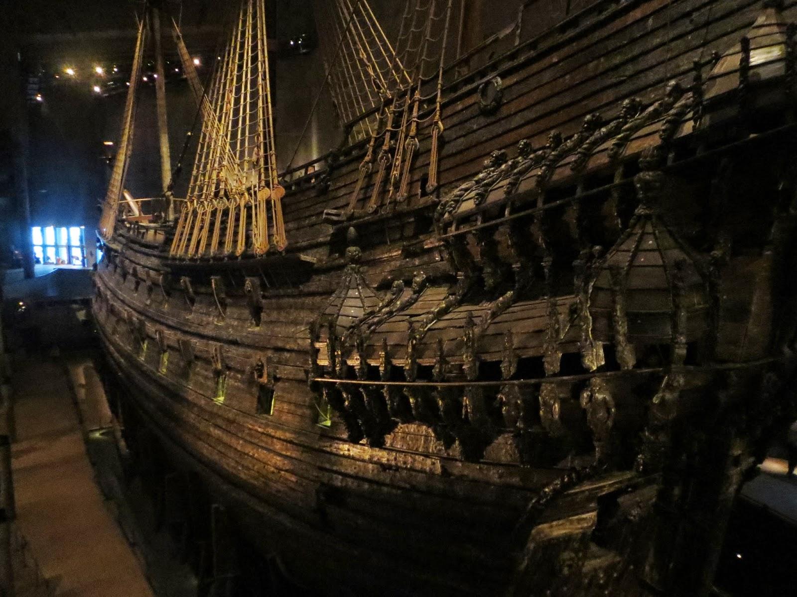 Londinoupolis the vasa museum stockholm for Vasa ship