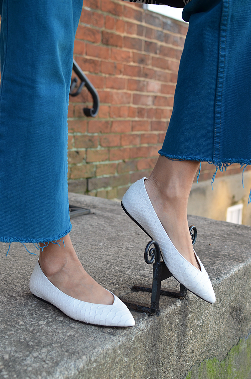 Wearing Isabel Marant Flats