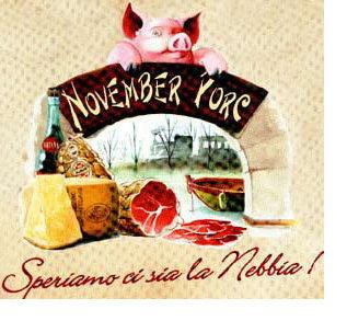 24 e 25 Novembre a Roccabianca: November porc, quarta tappa della staffetta culinaria dei week end di novembre