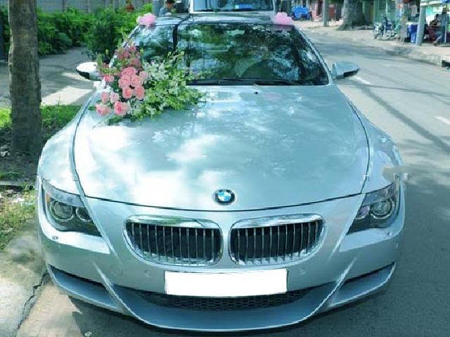 Cho thuê xe cưới BMW 650i