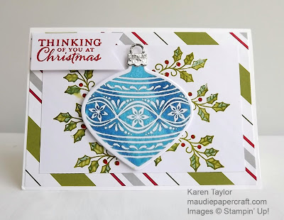 Stampin' Up! Embellished Ornaments