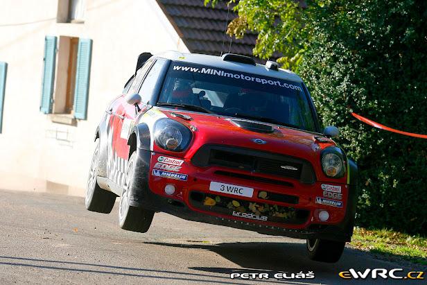 Rallye de Fracia 2011: Sordo de nuevo entre los grandes