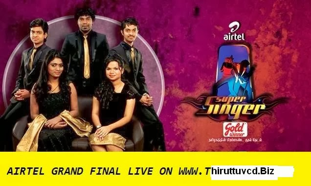Airtel Super Singer 4 Grand Finals Live Telecast Vijay Tv 01-02-2014