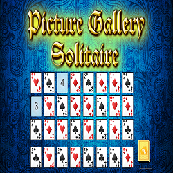 Picture Gallery Solitaire Card Game