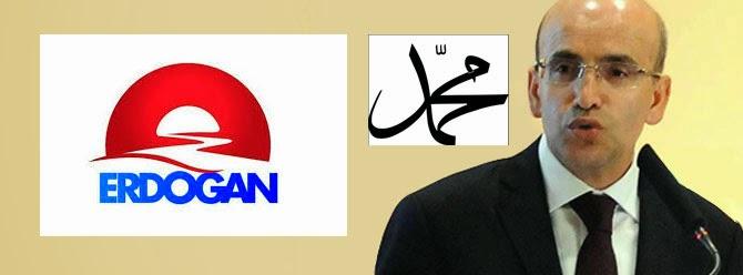 Erdoğan'ın Logosunda Muhammed Yazıyormıuş