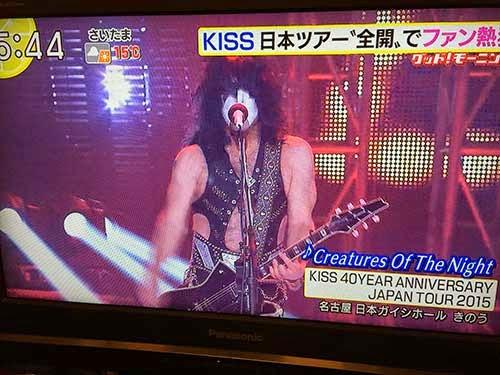 キッス2015ジャパン・ツアー ポール・スタンレー