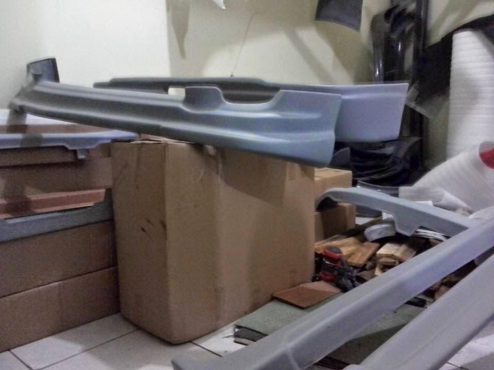 Body Kit Bumper Suzuki Ertiga Sporty-ABS Plastik