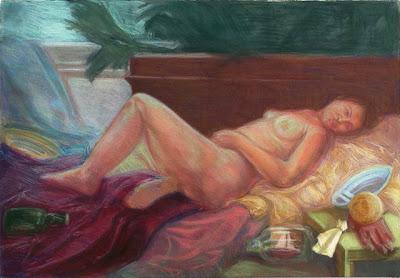 Daria Souvorova Ariadne Abandoned by Theseus