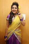Priyanka half saree photos-thumbnail-7