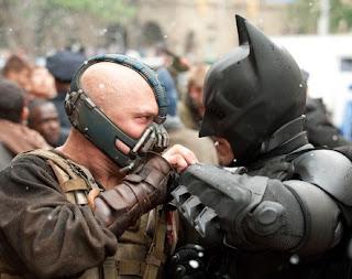 batman peleando con bane