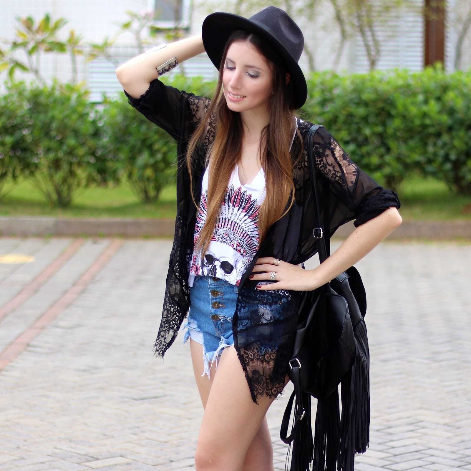 look do dia Festival de Música