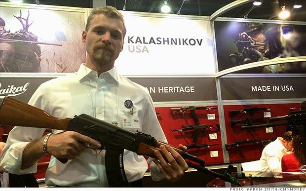 AS Mau Produksi Senjata AK-47