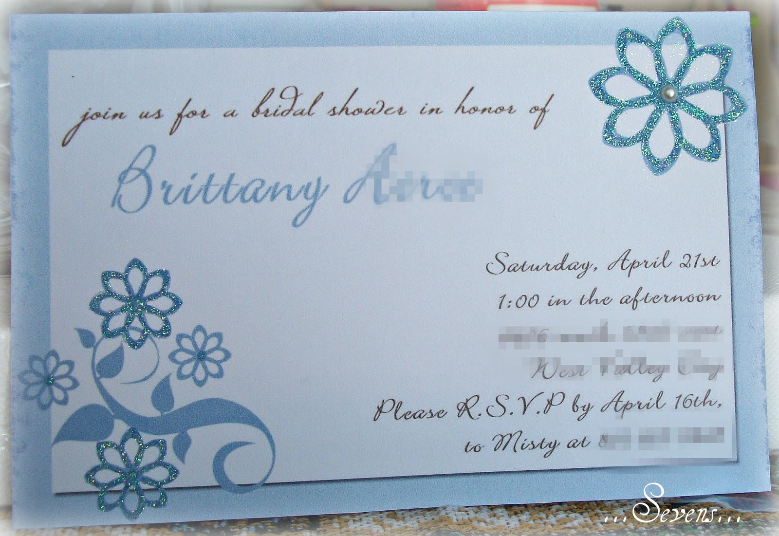 My Memories Bridal Shower Invitations, and Free Photobook Offer