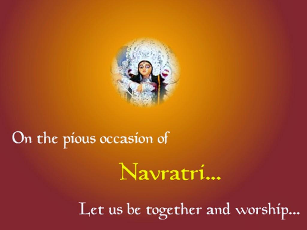 Happy Navratri Image Wishes 2015 Neem Ka Thana Voice