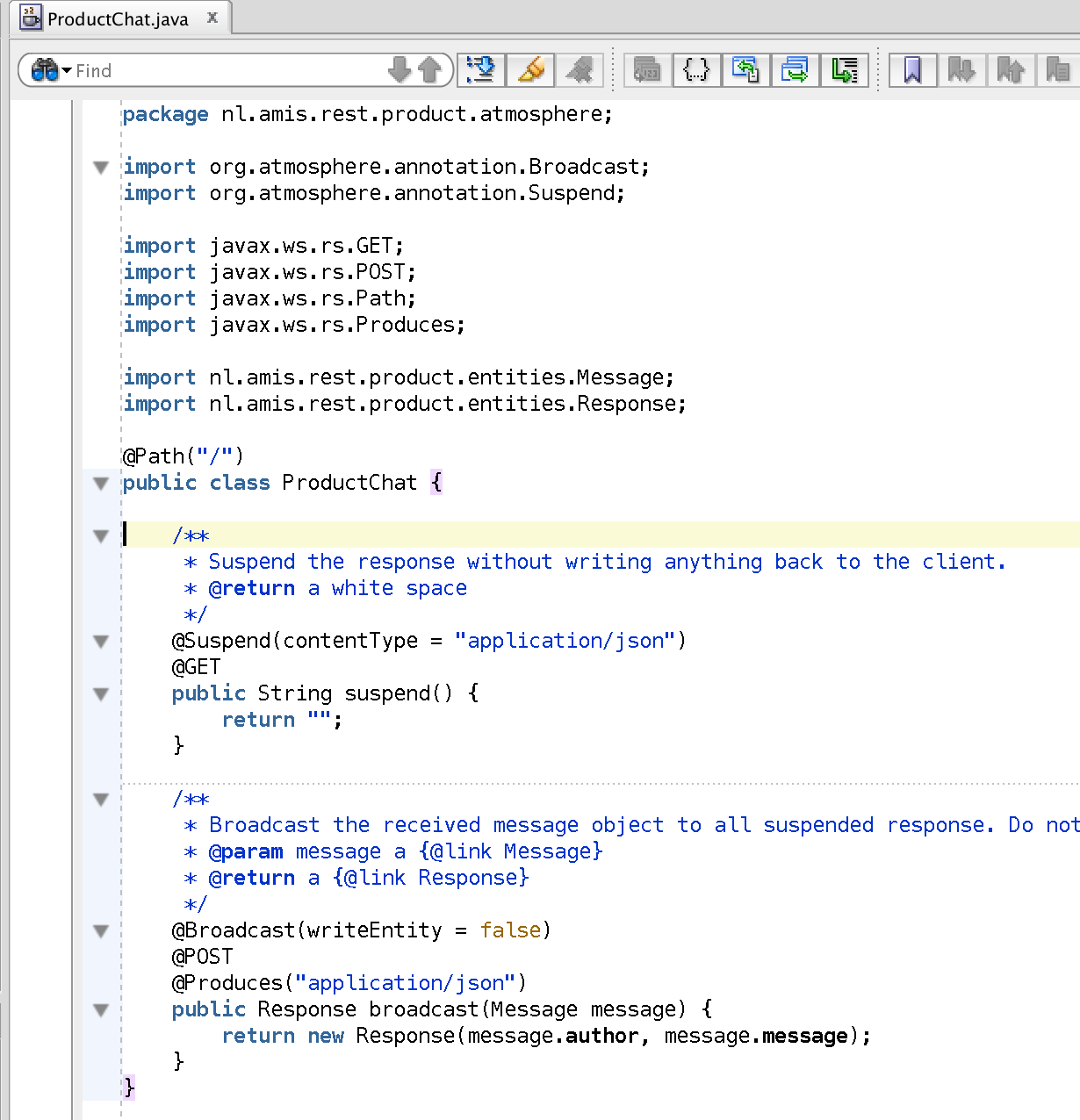 And The Webxml Which Contains The Jersey Servlet (with Jackson And  Linking) And The Atmosphere Servlet With The Weblogic Servlet Class