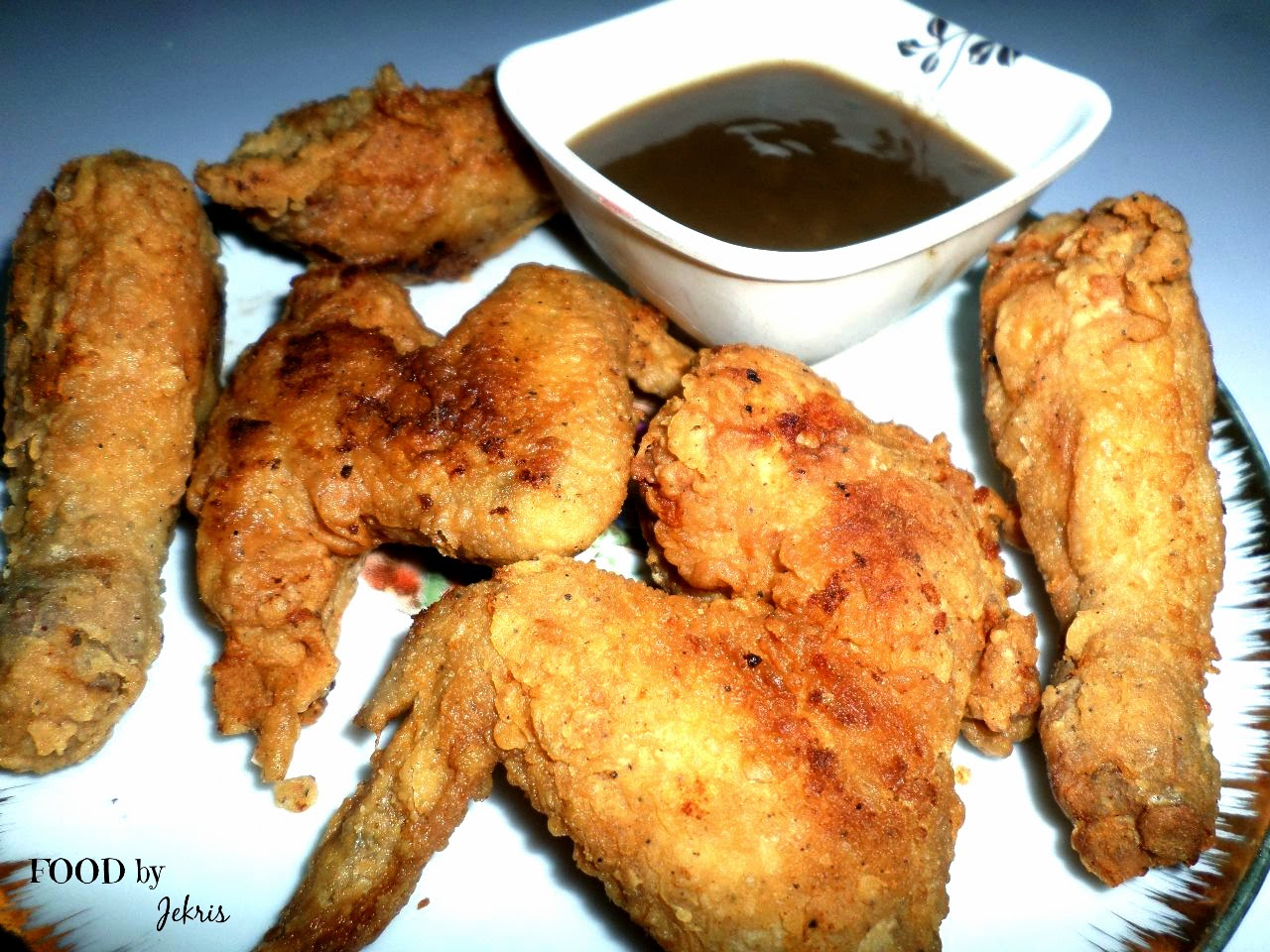 how to make chicken batter for fried chicken