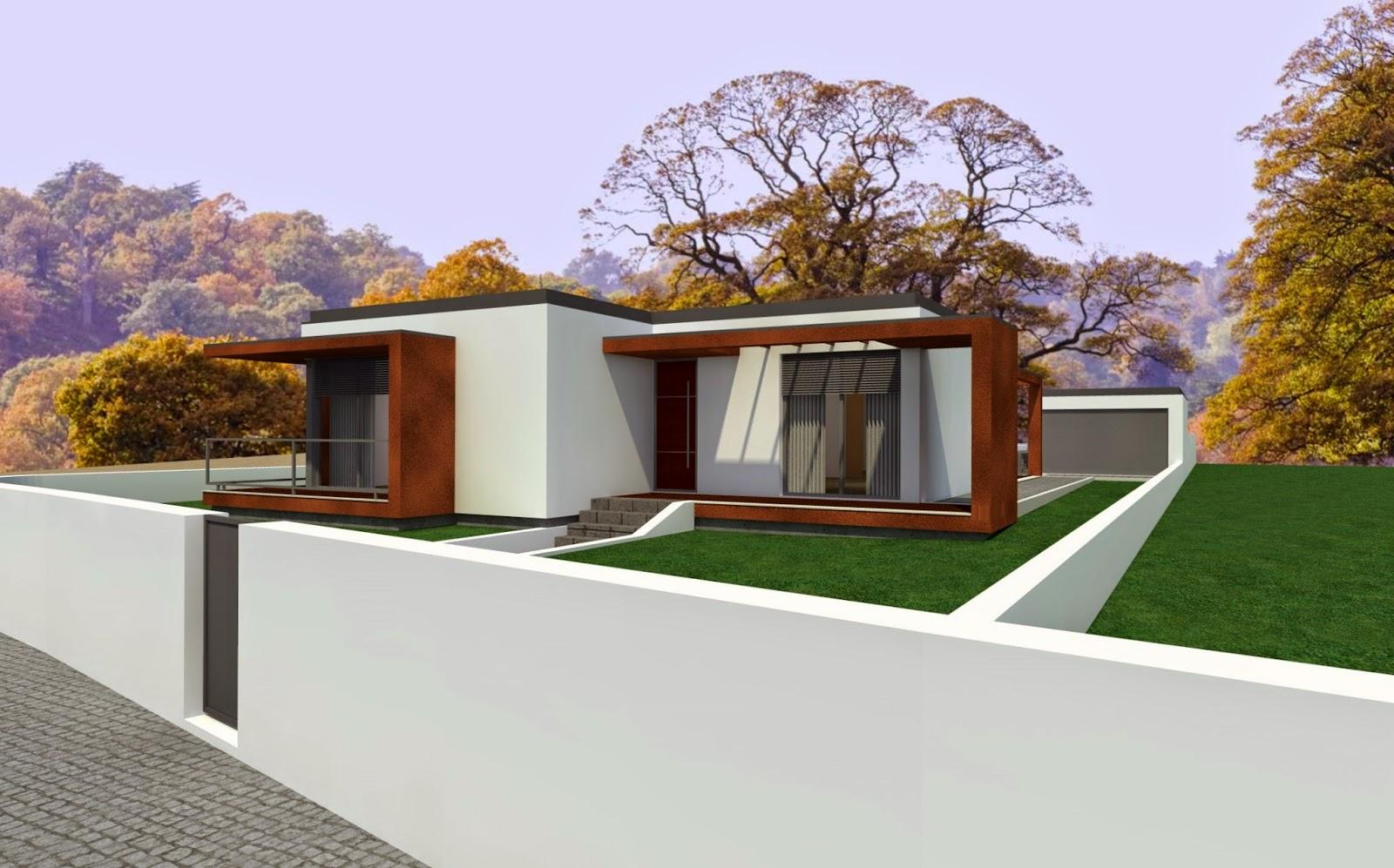 Casas modulares steel houses steel houses pias lousada - Casas modulares portugal ...