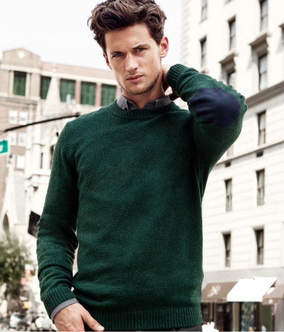 dark green in particular for men's fashion fall/winter 2012-2013