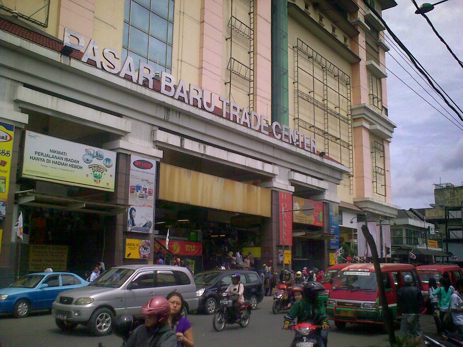 Tempat dan Objek Wisata Pasar Baru di Bandung