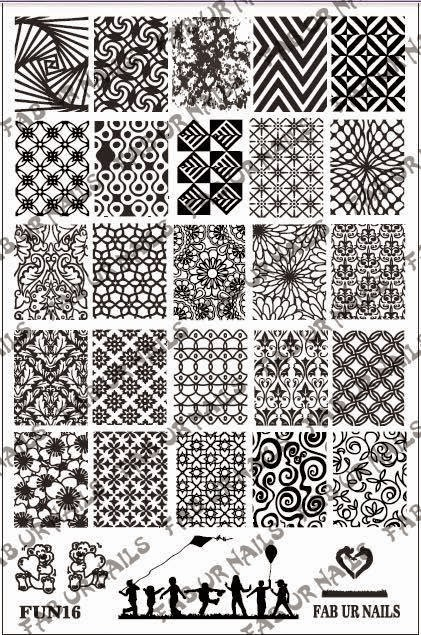 Lacquer Lockdown - Fab Ur Nails, nail art stamping blog, nail art stamping plates, FUN plates, stamping, indie stamping plates, new stamping plates 2015, new nail art stamping plates 2015, nail art stamping, diy nail art, cool nail art ideas, fun nail art ideas, FUN plates, stamping