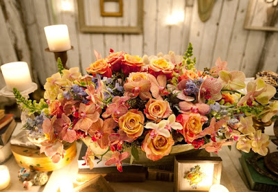 semplicemente perfetto Romantic Tablescape DIY lanterna