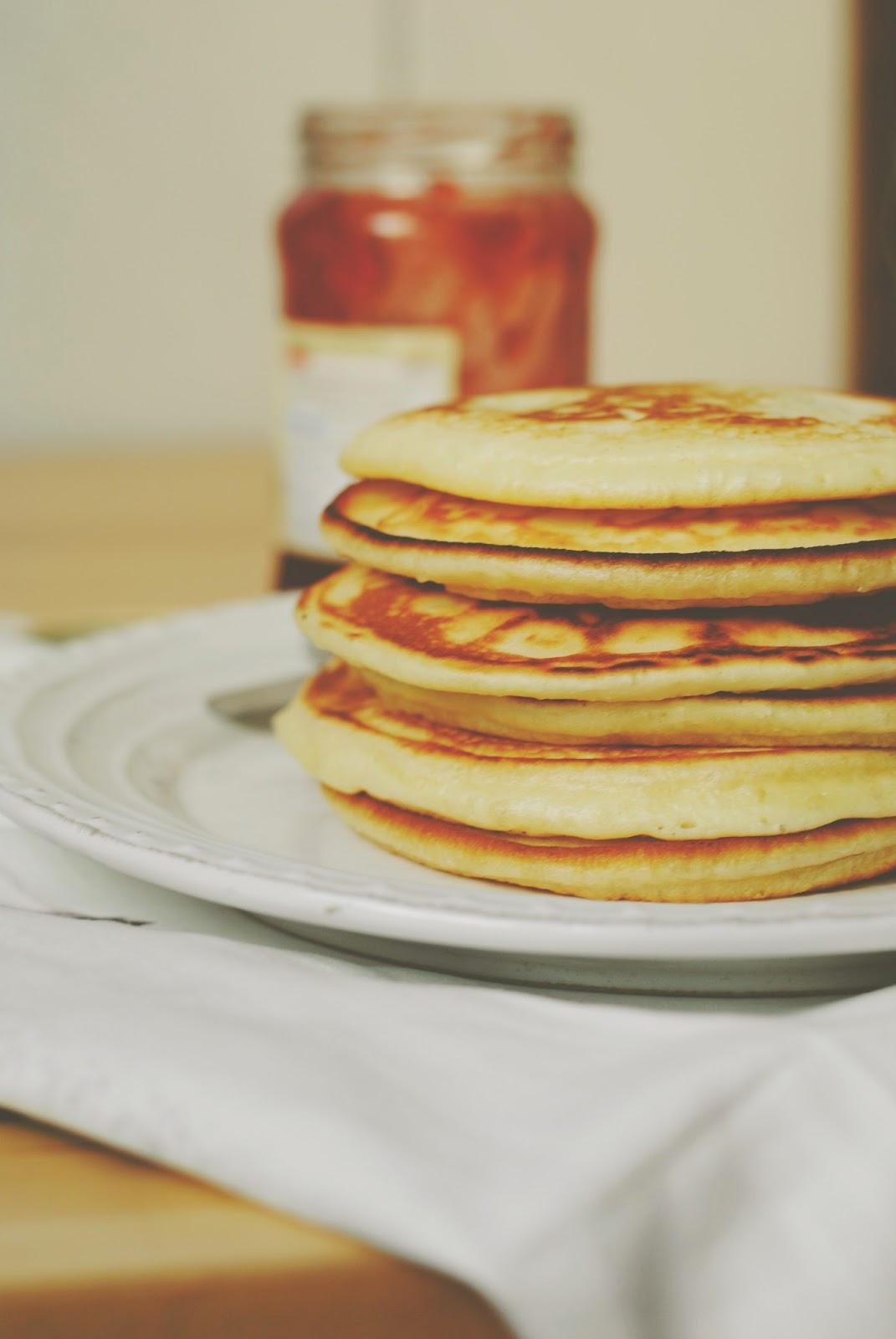 Pancakes przepis podstawowy