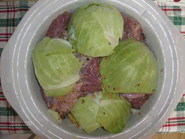 Crock Pot Corned Beef and Cabbage ~ good recipes
