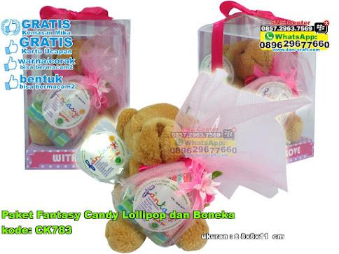 Paket Fantasy Candy Lollipop Dan Boneka