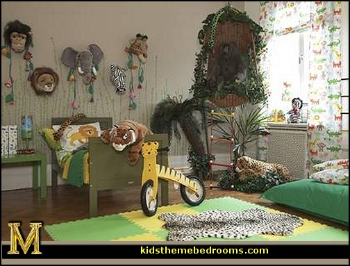 Decorating theme bedrooms maries manor jungle baby for Animal decoration