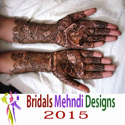Latest Bridals Mehndi Designs 2015 Collection