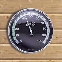 Higrómetro para medir la humedad relativa del aire