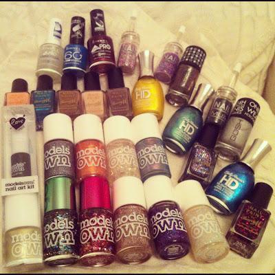 nail polish hauls
