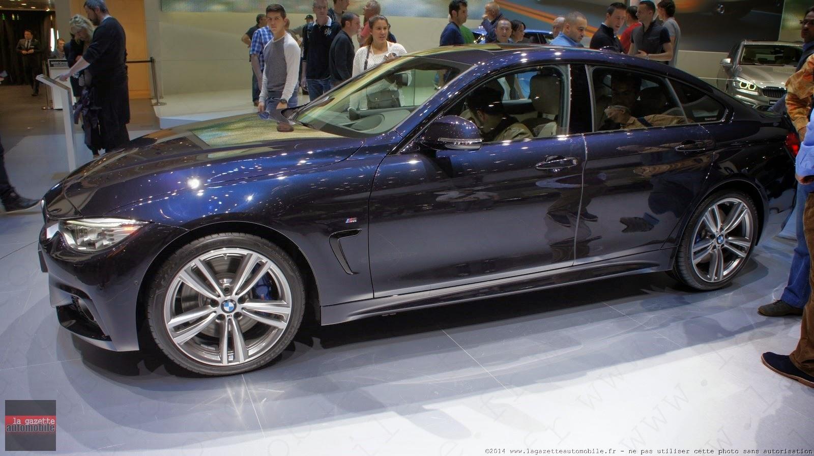 Genève : BMW Série 4 Gran Coupe