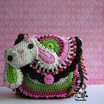 DIY,crochet by Vendulka, crochet patterns, Magic with hook and needles