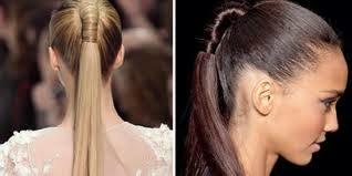 Cara Mengikat Rambut Kuncir Kuda