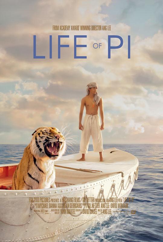 ดูหนังออนไลน์ เรื่อง : Life of Pi ชีวิตอัศจรรย์ของพาย HD