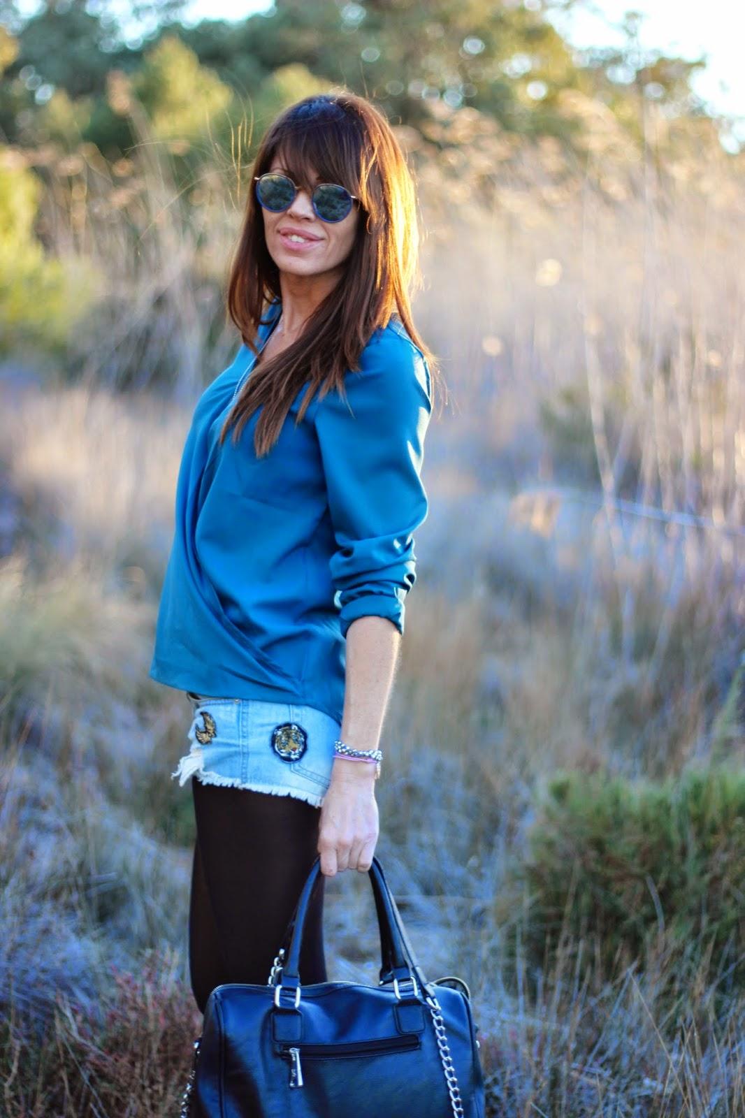 Streetstyle - fashion blogger -sheinside - Pepe Moll bags - Buffalo London Sneakers