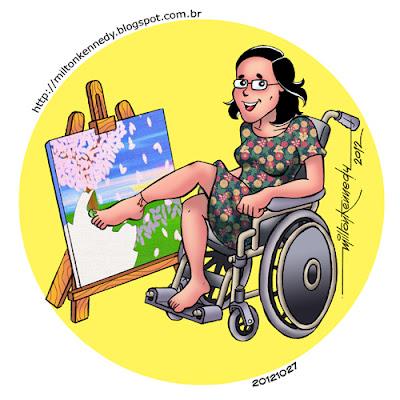 Pintura com os pés