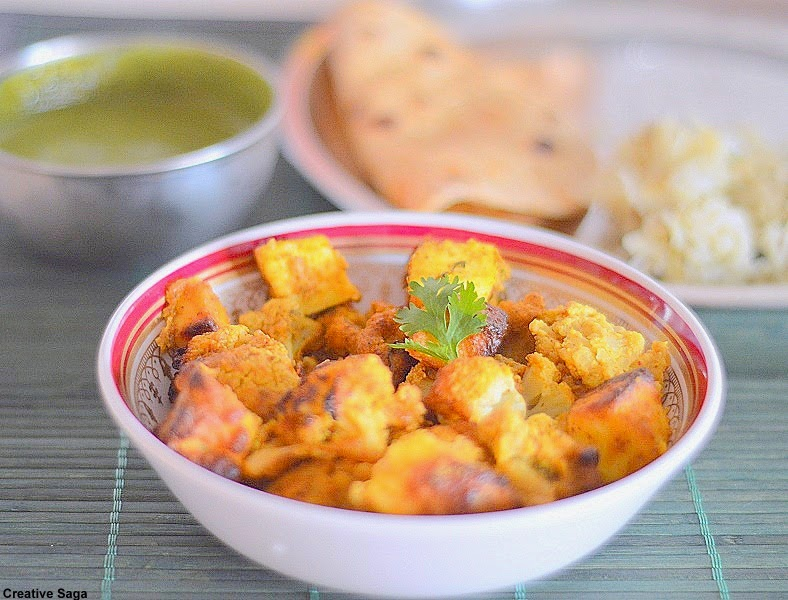 tandoori paneer gobi recipe
