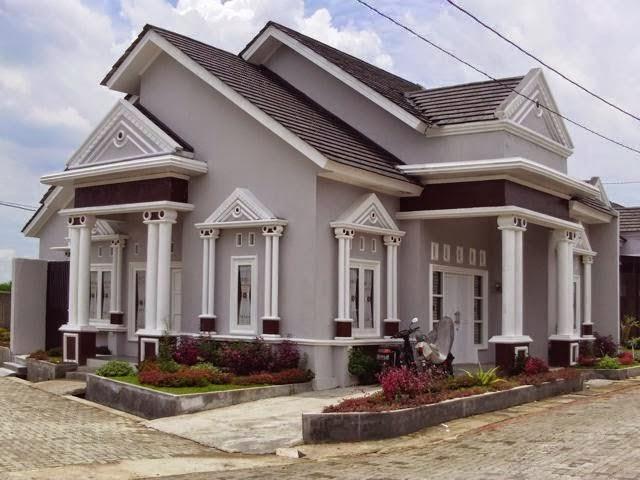 Tampilan mewah desain rumah minimalis 4