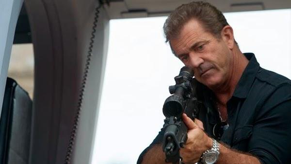 Mel Gibson en Los Mercenarios 3