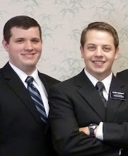 Elder Marquez and Elder Holcombe