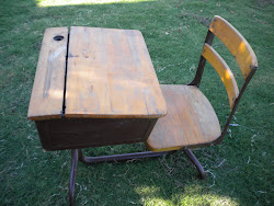 antique school desk...SOLD
