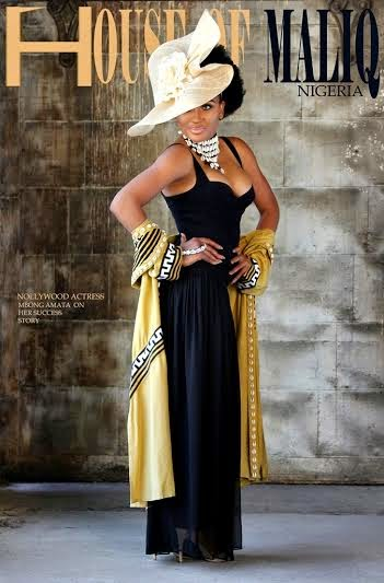 Mbong Amata On The Cover Of May Edition Of House Of Maliq Magazine