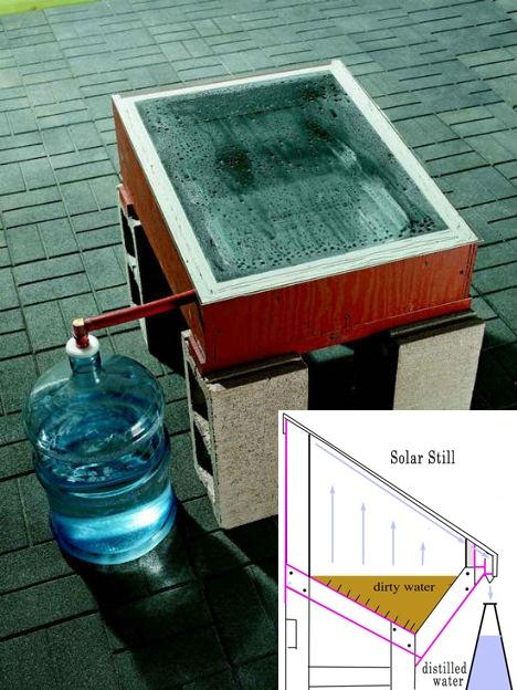 DIY เครื่องกรองน้ำ ด้วยพลังงานแสงอาทิตย์