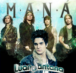 Maná Part. Luan Santana - Porto do Amor (2013)